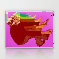 The Racing Rainbow Skulls Laptop & iPad Skin