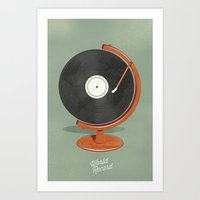 World Record Art Print