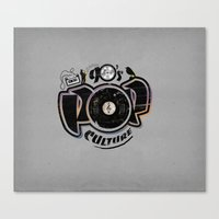 90's Pop Culture Canvas Print