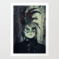 She Comes To Us All Art Print