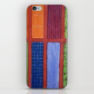 Large Rectangle Fields B… iPhone & iPod Skin