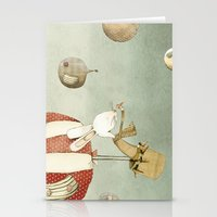 balloon Stationery Cards featuring Balloon by Judith Loske