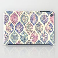 Patterned & Painted Flor… iPad Case