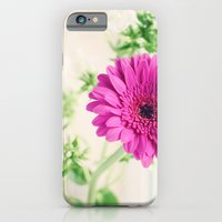 iPhone & iPod Case featuring Gerberas and Phlox by Melissa Contreras