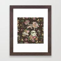 Botanic Wars Framed Art Print