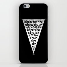 ABRACADABRA iPhone & iPod Skin