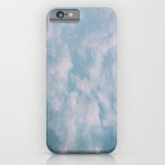 Fluffy Blue Clouds iPhone 6 Slim Case