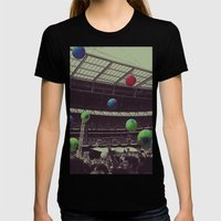 Coldplay at Wembley Womens Fitted Tee Black SMALL