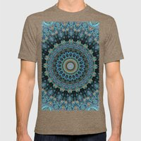 Spiral Eye Mens Fitted Tee Tri-Coffee SMALL