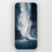 Bowen Falls 1 iPhone & iPod Skin