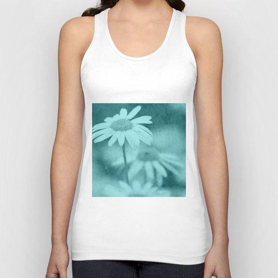 Floral art image Unisex Tank Top