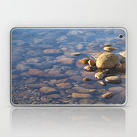 Pebble Stones By The Sea… Laptop & iPad Skin