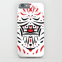 Temple of faces iPhone 6 Slim Case