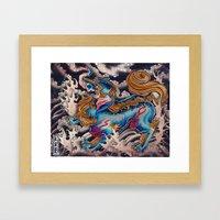 Baku Framed Art Print