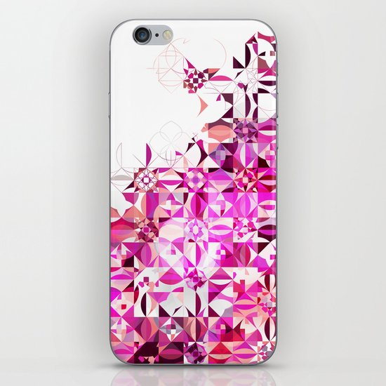 Zellige | 002 Magenta iPhone & iPod Skin