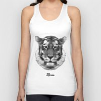 TIGER SAYS MEOW Unisex Tank Top