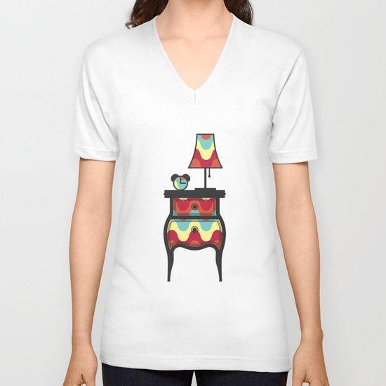bedtime story V-neck T-shirt