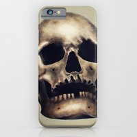 iPhone & iPod Case featuring Skull by Jaaaiiro