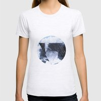 Lost At Sea Womens Fitted Tee Ash Grey SMALL