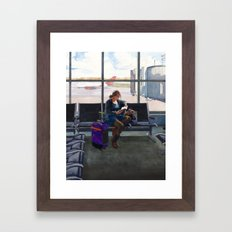 Departure Framed Art Print