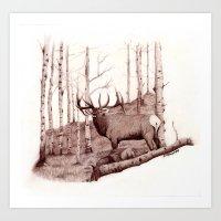 Quakies Art Print