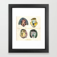Album cover Framed Art Print