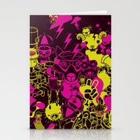 Dream Factory Pink and Yellow Stationery Cards