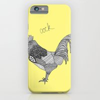 iPhone & iPod Case featuring Another Rooster by lush tart
