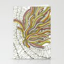 Sea Anemone Stationery Cards