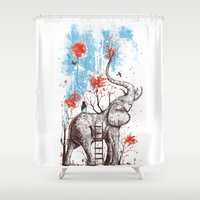 A Happy Place Shower Curtain
