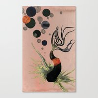 Koi Bubbles Canvas Print
