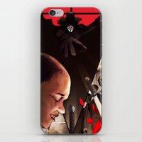 V (For Vendetta) iPhone & iPod Skin