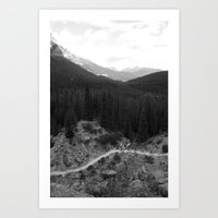 Lets Get Lost, The Valle… Art Print