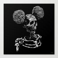 Party Skull Canvas Print