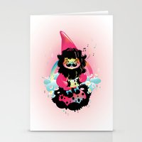 Whistling gnome Stationery Cards