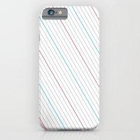 Simple Lines iPhone 6 Slim Case