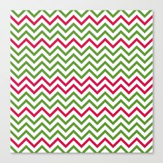 Graphic Holiday Pattern Canvas Print