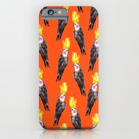 iPhone & iPod Case featuring Cockatiel by Bouffants and Broken Hearts