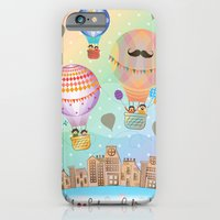 iPhone & iPod Case featuring I {❤} Hot Air Balloon by lilycious