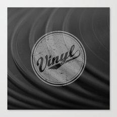 Vinyl II Canvas Print