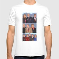 Eyewitness News Mens Fitted Tee White SMALL