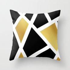 Feeling Gold  Throw Pillow