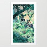 Vile Evan The Slimeophag… Art Print