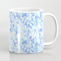 Pale Blue Spots Mug