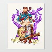 Jungle Pirate. Canvas Print