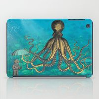 Octopus & The Diver iPad Case