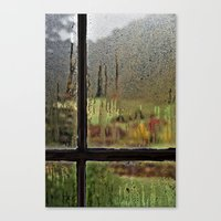 Droplet Landscape III Canvas Print
