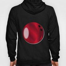 Red Bowling Ball Hoody