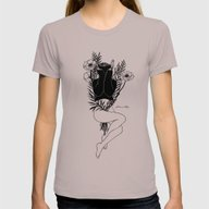Pure Morning Womens Fitted Tee Cinder SMALL