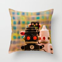 S&P Throw Pillow